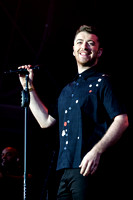 SAM SMITH PLAYS HYLANDS PARK, CHELMSFORD, UK ON 22/08/2015