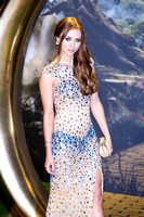 UNA HEALY OF THE SATURDAYS ATTENDS OZ THE GREAT AND POWERFUL EUROPEAN PREMIERE AT EMPIRE LEICESTER SQUARE, LONDON, UK ON 28/02/2013