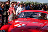 GLAMOUR AND CLASSIC MOTOR CARS  AT GOODWOOD REVIVAL AT GOODWOOD MOTOR CIRCUIT, CHICHESTER,  ON 11/09/2015