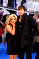 JAMES ARTHUR ATTENDS X-MEN: DAYS OF FUTURE PAST UK PREMIERE AT ODEON LEICESTER SQUARE, LONDON, UK ON 12/05/2014
