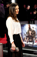 LINDSAY ARMAOU ATTENDS G.I JOE UK PREMIERE AT THE EMPIRE LEICESTER SQUARE, LONDON, UK ON 18/03/2013