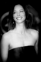 Sienna Guillory arrives on the red carpet for the London Film Festival screening of {suppcat3}