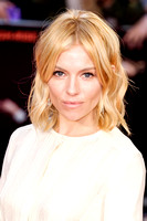 Sienna Miller arrives on the red carpet for the London Film Festival screening of {suppcat3}