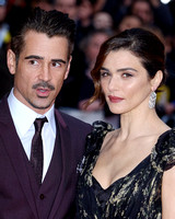 Colin Farrell & Rachel Weisz arrives on the red carpet for the London Film Festival screening of {suppcat3}