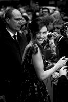 Rachel Weisz arrives on the red carpet for the London Film Festival screening of {suppcat3}