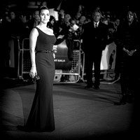 Kate Winslet arrives on the red carpet for the London Film Festival closing gala screening and UK premiere of Steve Jobs