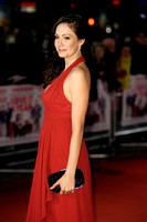 ANNA SKELLERN ATTENDS I GIVE IT A YEAR - EUROPEAN PREMIERE AT THE VUE LEICESTER SQUARE, LONDON, UK ON 24/01/2013