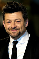 ANDY SERKIS ATTENDS 65TH ROYAL FILM PERFORMANCE AND UK PREMIERE OF THE HOBBIT: AN UNEXPECTED JOURNEY AT LEICESTER SQUARE, LONDON, UK ON 12/12/2012