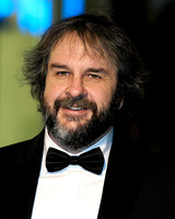DIRECTOR SIR PETER JACKSON ATTENDS 65TH ROYAL FILM PERFORMANCE AND UK PREMIERE OF THE HOBBIT: AN UNEXPECTED JOURNEY AT LEICESTER SQUARE, LONDON, UK ON 12/12/2012