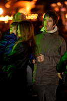 NOEL GALLAGHER ATTENDS OPENING NIGHT OF HYDE PARK WINTER WONDERLAND 2012 AT HYDE PARK, LONDON, UK ON 22/11/2012