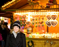 NELL MCANDREW ATTENDS OPENING NIGHT OF HYDE PARK WINTER WONDERLAND 2012 AT HYDE PARK, LONDON, UK ON 22/11/2012