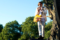 ARCADE FIRE PLAY BRITISH SUMMERTIME HYDE PARK AT HYDE PARK, LONDON, UK ON 03/07/2014