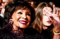 DAME SHIRLEY BASSEY ATTENDS THE CBTF ROYAL FILM PERFORMANCE 2015: THE WORLD PREMIERE OF SPECTRE AT ROYAL ALBERT HALL, LONDON, UK ON 26/10/2015
