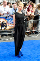 MYANNA BURING ATTENDS WORLD PREMIERE OF THE WORLD'S END AT EMPIRE LEICESTER SQUARE, LONDON, UK ON 10/07/2013