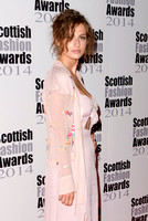 TALI LENNOX ATTENDS SCOTTISH FASHION AWARDS AT 8 NORTHUMBERLAND, LONDON, UK ON 01/09/2014