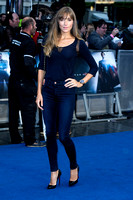 JACQUI AINSLEY ATTENDS EUROPEAN PREMIERE FOR MAN OF STEEL AT EMPIRE AND ODEON LEICESTER SQUARE, LONDON, UK ON 12/06/2013