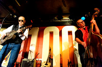 LONDON, UK. THE DODGE BROTHERS PLAY THE 100 CLUB ON 09/09/2013