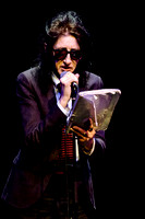 Dr John Cooper Clarke kicks of the Worthing WOW (World of Words) at The Connaught Theatre, Worthing on 14/04/2016