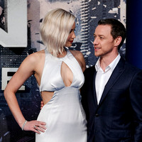 Jennifer Lawrence, James McAvoy