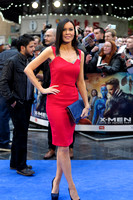 Linzi Stoppard ATTENDS X-MEN: DAYS OF FUTURE PAST UK PREMIERE AT ODEON LEICESTER SQUARE, LONDON, UK ON 12/05/2014
