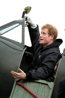 PRINCE HARRY ATTENDS BOULTBEE FLIGHT ACADEMY AT GOODWOOD MOTOR CIRCUIT, GOODWOOD, UK ON 15/02/2014