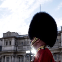 Beating the Retreat at Horse Guards Parade on 15/06/2017