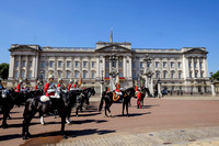 Trooping the Colour at Buckingham Palace on 17/06/2017