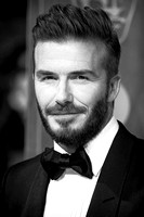 DAVID BECKHAM ATTENDS EE BRITISH ACADEMY FILM AWARDS ARIVALS AT ROYAL OPERA HOUSE, LONDON, UK ON 08/02/2015