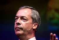 NIGEL FARAGE AT THE WINTER GARDEN, EASTBOURNE, UK ON 07/06/2014