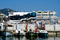General View across the marina towards the Palais des Festivals
