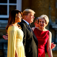 Prime Minister, Theresa May, President Donald Trump, First Lady, Melania Trump, Philip May