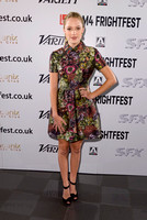 MEDIA WALL AND PHOTOCALL FOR THE OPENING FILM THE GUEST, FRIGHTFEST 2014 AT THE VUE WEST END, LONDON, UK ON 21/08/2014