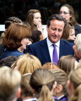 PRIME MINISTER DAVID CAMERON  VISITS CHARTER ACADEMY AT HYDE PARK ROAD, PORTSMOUTH, UK ON 13/10/2014