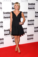 JENNI FALCONER ATTENDS SCOTTISH FASHION AWARDS AT 8 NORTHUMBERLAND, LONDON, UK ON 01/09/2014