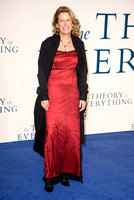 LISA BRUCE ATTENDS UK PREMIERE OF THE THEORY OF EVERYTHING AT ODEON LEICESTER SQUARE, LONDON, UK ON 09/12/2014