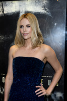 Charlize Theron attends The world premiere of Sir Ridley Scott's new sci-fi thriller Prometheus