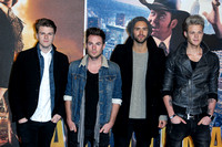 LAWSON ATTENDS UK PREMIERE OF ANCHORMAN 2: THE LEGEND CONTINUES AT VUE LEICESTER SQUARE, LONDON, UK ON 11/12/2013