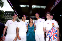 Dame Kelly Holmes attends the Great British Premiere of Chariots of Fire