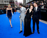 The cast attends The world premiere of Sir Ridley Scott's new sci-fi thriller Prometheus
