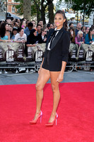 Alesha Dixon attends the World Premiere of Ill Manors