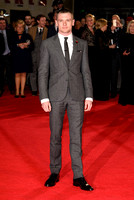 JACK O'CONNELL ATTENDS UK PREMIERE OF UNBROKEN AT ODEON LEICESTER SQUARE, LONDON, UK ON 25/11/2014