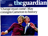 The Guardian Front Page 06/10/2016 Conservative Party Conference