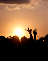 The sun goes down on V Festival, Chemsford