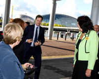 DEPUTY PRIME MINISTER NICK CLEGG ATTENDS LIBERAL DEMOCRAT AUTUMN CONFERENCE AT SCOTTISH EXHIBITION AND CONFERENCE CENTRE, GLASGOW, SCOTLAND ON 04/10/2014
