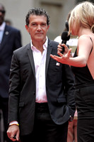 ANTONIO BANDERAS  ATTENDS WORLD PREMIERE OF THE EXPENDABLES 3 AT ODEON LEICESTER SQUARE, LONDON, UK ON 04/08/2014