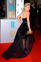 HOFIT GOLAN ATTENDS EE BRITISH ACADEMY FILM AWARDS ARIVALS AT ROYAL OPERA HOUSE, LONDON, UK ON 08/02/2015