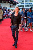 HARRY DERBIDGE ATTENDS UK PREMIERE OF WHAT IF AT ODEON WEST END, LEICESTER SQUARE, LONDON, UK ON 12/08/2014