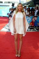 LAURA WHITMORE ATTENDS UK PREMIERE OF WHAT IF AT ODEON WEST END, LEICESTER SQUARE, LONDON, UK ON 12/08/2014