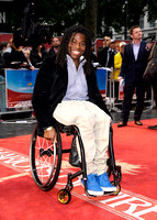 Ade Adepitan MBE  attends the Great British Premiere of Chariots of Fire