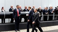 HRH The Duke Of Cambridge Attends The Re-dedication Of Hms Alliance At Royal Navy Submarine Museum, Portsmouth / Gosport, Uk On 12/05/2014